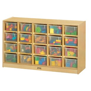 Buying ThriftyKYDZ  20 Compartment Cubby with Casters ByJonti-Craft