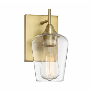Compare & Buy Staci 1-Light Armed Sconce By Zipcode Design
