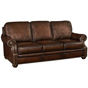 Hooker Leather Sofa by Hoo..
