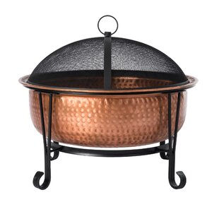 Fire Sense Palermo Copper Wood Burning Fi..
