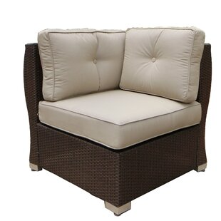 World Wide Wicker Tampa Patio Chair with ..