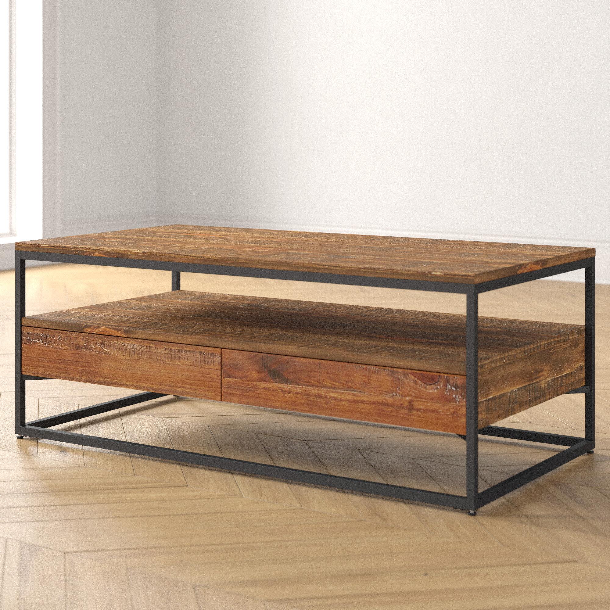 - Foundstone Caroline Rustic 2 Piece Coffee Table Set & Reviews