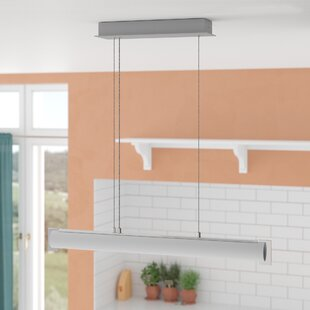Tube 1 Light Kitchen Island Pendent by George Kovacs by Minka
