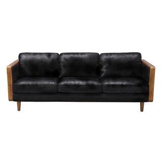 Aric Mandalay Oxford Leather Sofa by Corrigan Studio SKU:CB726775 Information