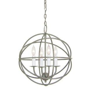 Pasley 4-Light Pendant by Breakwater Bay