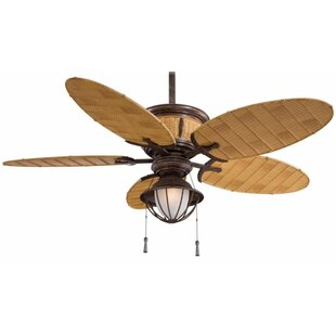 52 Shangri La 5 Blade Outdoor LED Ceiling Fan By Minka Aire Outdoor Lighting