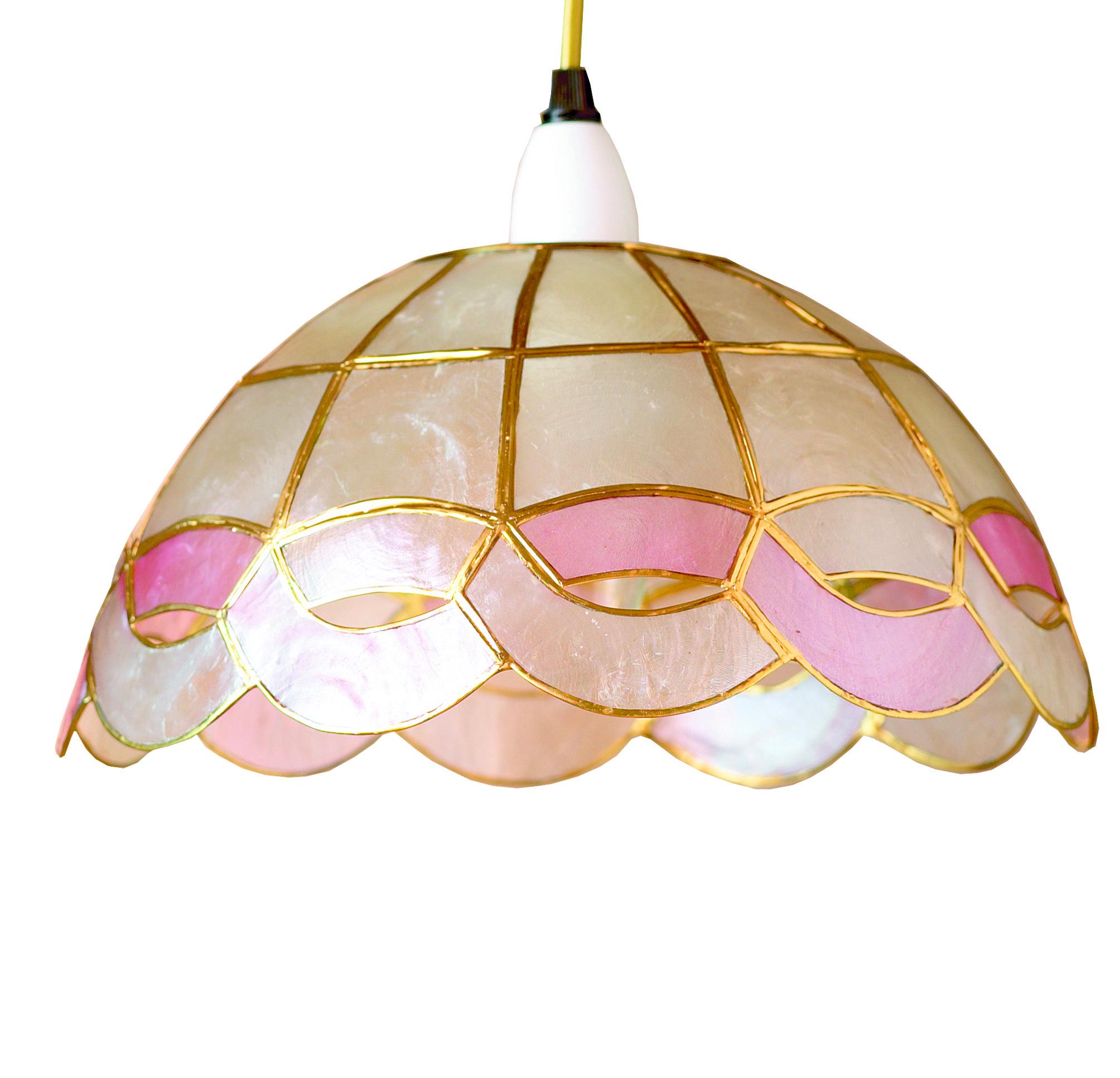 lighting garden free light lamp capiz inch overstock safavieh illumina floors product shipping floor today home