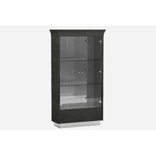 Orren Ellis Sifuentes Lighted Curio Cabinet