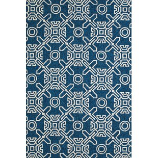 Price Check Maui Hand-Woven Cyan Indoor/Outdoor Area Rug ByPanama Jack Home