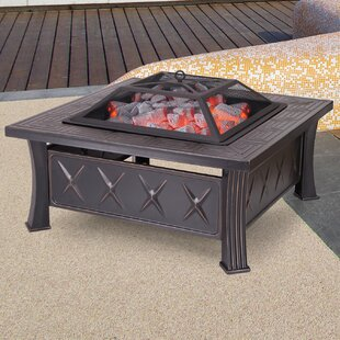 Sheet Steel Wood Burning Fire Pit Table