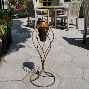 Starlite Garden and Patio Torche Co. Handmade Stand and Frame Intended Garden Torch