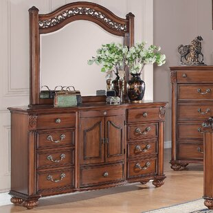 Leigh 9 Drawer Dresser with Mirror