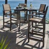 Coastal 5 Piece Bar Height Dining Set