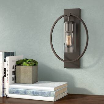 Steel Partners Timber Ridge 1 Light Spur Of The Moment Wall Sconce Wayfair