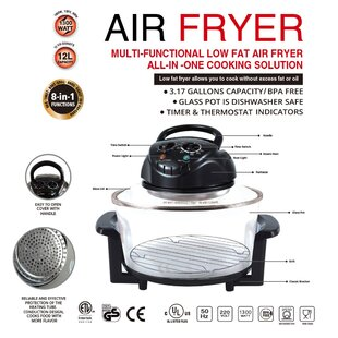 12 Liter Multi-Functional All in One Cooking Air Fryer