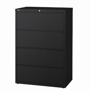 Symple Stuff Troy 4-Drawer Lateral Filing Cabinet