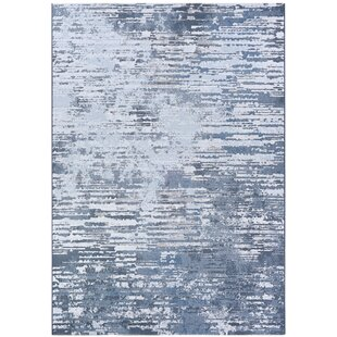 Bargain Driggers Gray/White Area Rug ByWilliston Forge