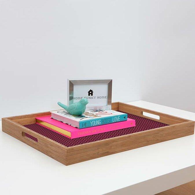 Deny Designs Karissa Ottoman Coffee Table Tray Wayfair