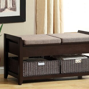 Latitude Run Robledo Wood Storage Bench