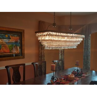 Willa Arlo Interiors Dix 6-Light Crystal Chandelier