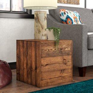 Berowalt Cube End Table by Trent Austin Design