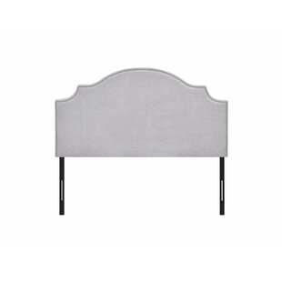 Veda Adjustable Upholstered Panel Headboard by Charlton Home