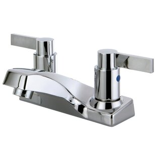 Nuvofusion Centerset Lavatory Bathroom Faucet with Pop-UP Drain By Kingston Brass