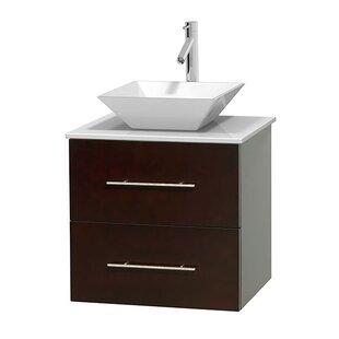 Centra 24 Single Bathroom Vanity by Wyndham Collection