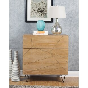 Felan Chest 3 Drawer Standard Dresser