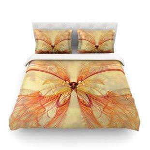 Papillon by Alison Coxon Featherweight Duvet Cover