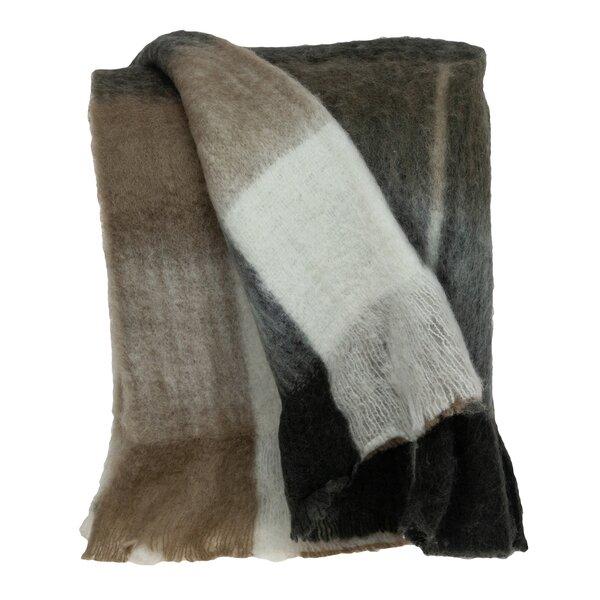 Winston Porter Mills Woven Handloom Wool Throw Wayfair
