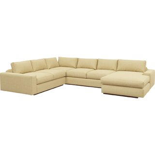 "Jackson 104"" x 138"" Corner Sectional with Chaise by TrueModern SKU:BA546280 Shop"