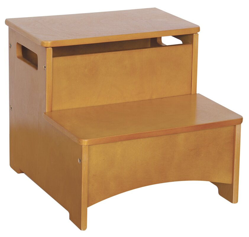 Beautiful New Mission Step Stool With Storage