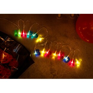The Party Aisle 5.1 ft. 13-Light Novelty String Light