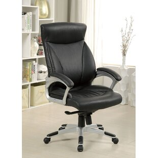 A&J Homes Studio Leather Executive Chair