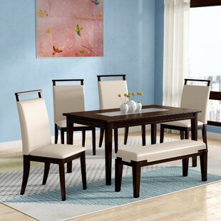 Depew 6 Piece Dining Set Latitude Run