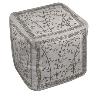 Oriental Treasure Pouf by Manual Woodworkers & Weavers
