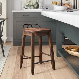 Piedmont Counter-Height 25'' Bar Stool by Birch Lane™ Heritage New