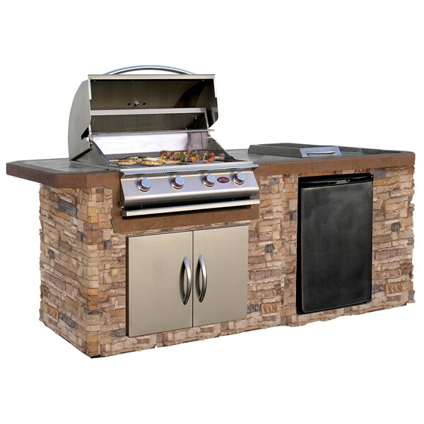 BuiltIn Grills Youll Love Wayfair - Dining table with built in grill