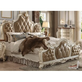 Fleur De Lis Living Cowart Upholstered Panel Bed