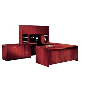 Aberdeen Series 3-Piece U-Shape Desk Office Suite by Mayline Group