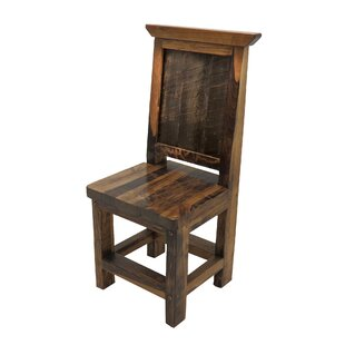 Jaramillo™ Solid Wood Dining Chair Loon Peak