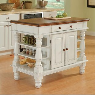 Collette Kitchen Island August Grove