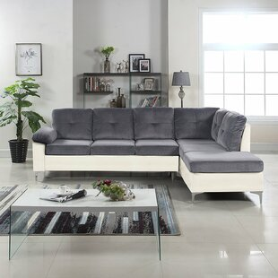 Kincade Contemporary Microfiber/Faux Sectional by Orren Ellis