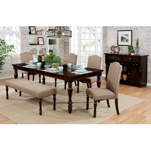 Hiram 6 Piece Extendable Dining Set Alcott Hill