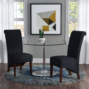Ramon Straight Legs Parsons Chair (Set of 2) by Langley Street