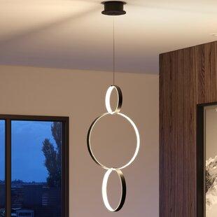 Wade Logan Doveton 3-Light LED Geometric Pendant