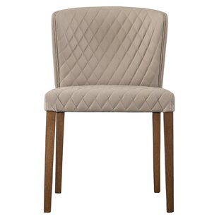 Kathie Upholstered Dining Chair (Set of 2) Ivy Bronx