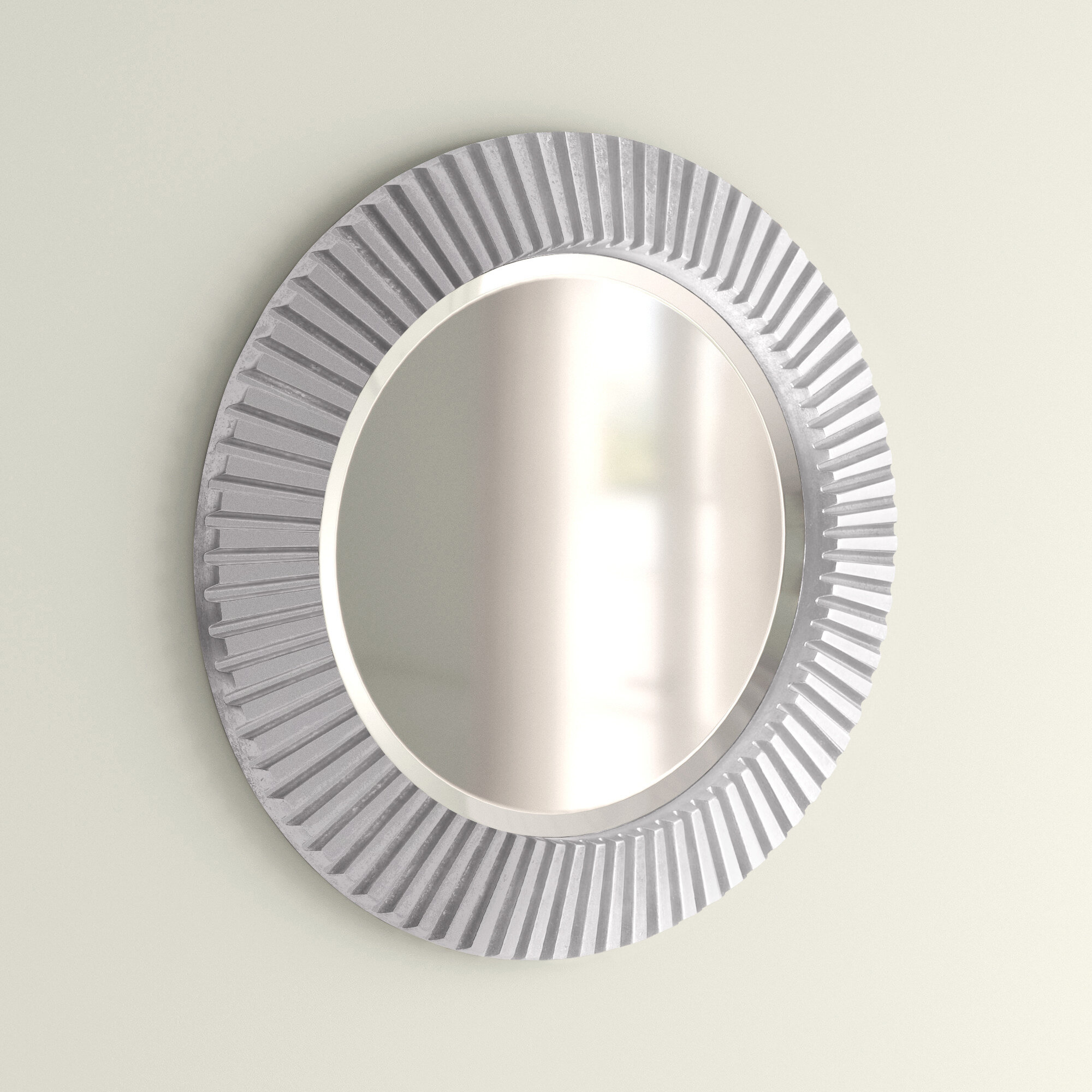 Silver Wall Mirrors Free Shipping Over 35 Wayfair