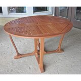 Church Street Outdoor Gate Leg Wood Bar Table